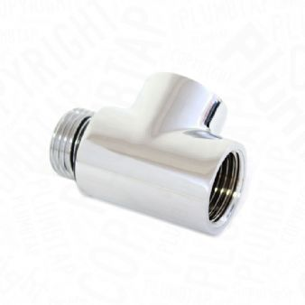 Arian Dual Fuel Heating T Piece Element Connector for Towel Radiator